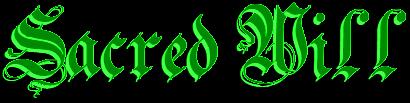 Sacred Will - Logo