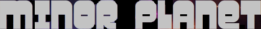 Minor Planet - Logo