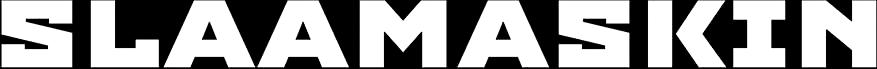 Slaamaskin - Logo