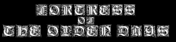 Fortress of the Olden Days - Logo