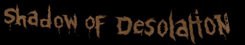 Shadow of Desolation - Logo