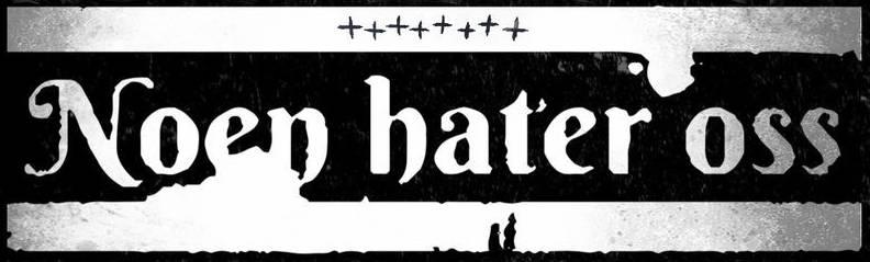 Noen hater oss - Logo