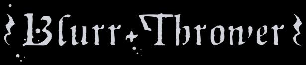 Blurr Thrower - Logo
