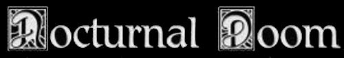 Nocturnal Doom - Logo