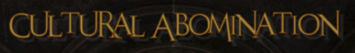 Cultural Abomination - Logo
