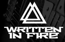 Written in Fire - Logo