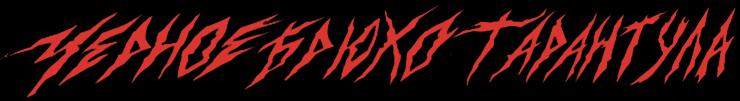 Чёрное Брюхо Тарантула - Logo