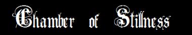 Chamber of Stillness - Logo