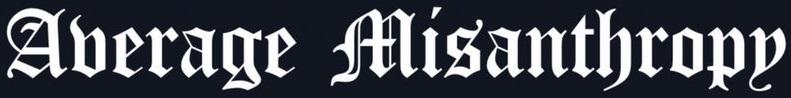 Average Misanthropy - Logo