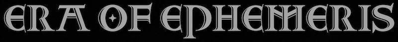 Era of Ephemeris - Logo