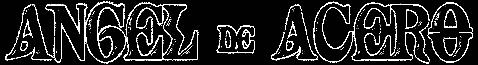 Ángel de Acero - Logo