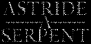 Astride a Serpent - Logo