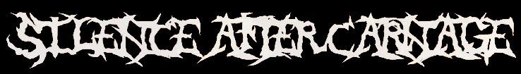 Silence After Carnage - Logo
