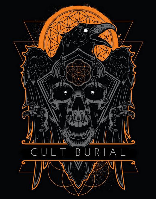 Cult Burial - Logo