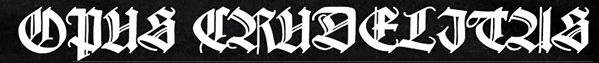 Opus Crudelitas - Logo