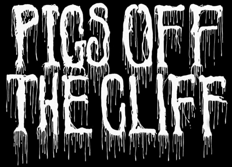 Pigs off the Cliff - Logo