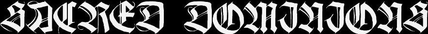 Sacred Dominions - Logo