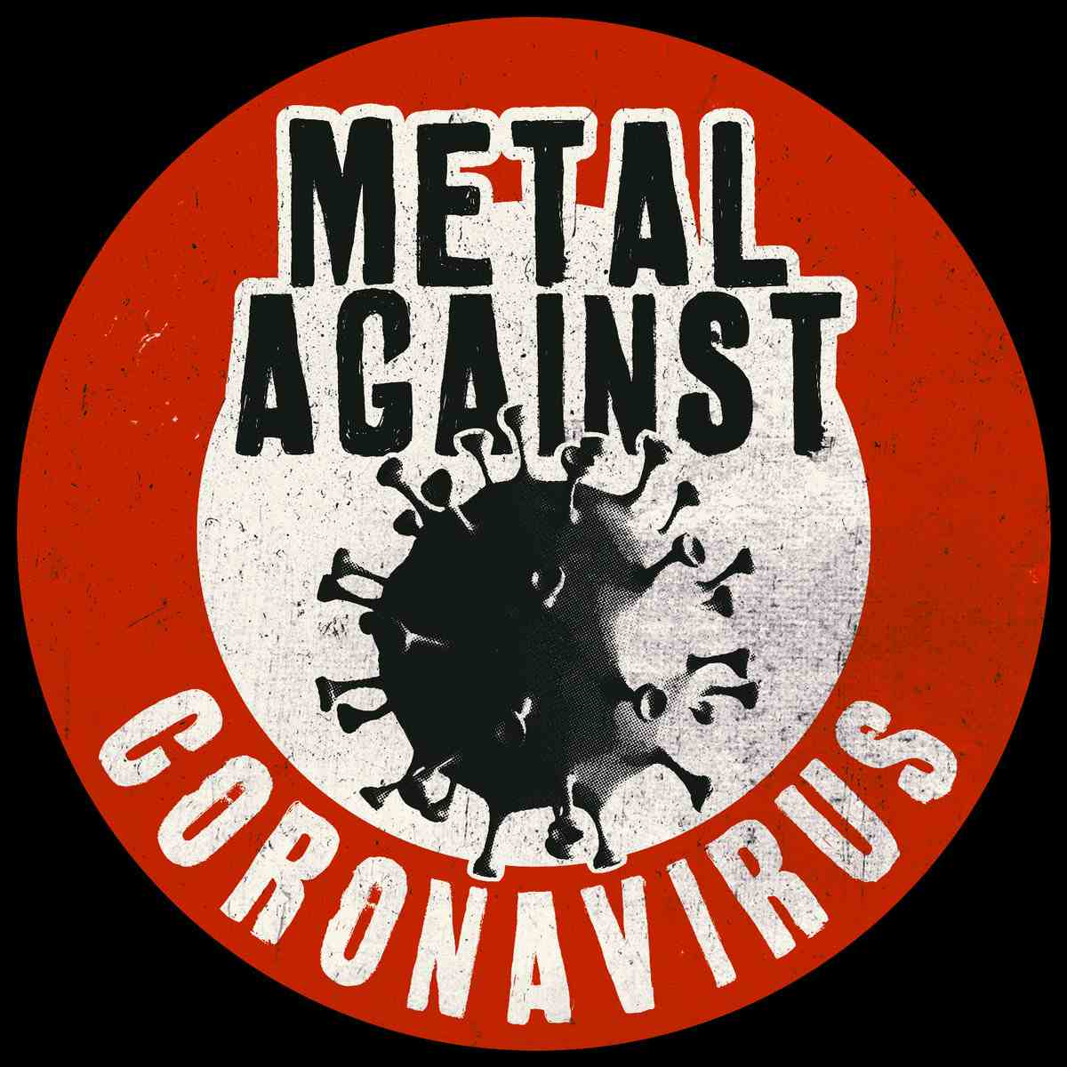 Metal Against Coronavirus - Logo