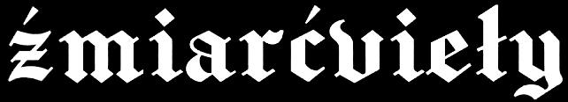 Źmiarćvieły - Logo