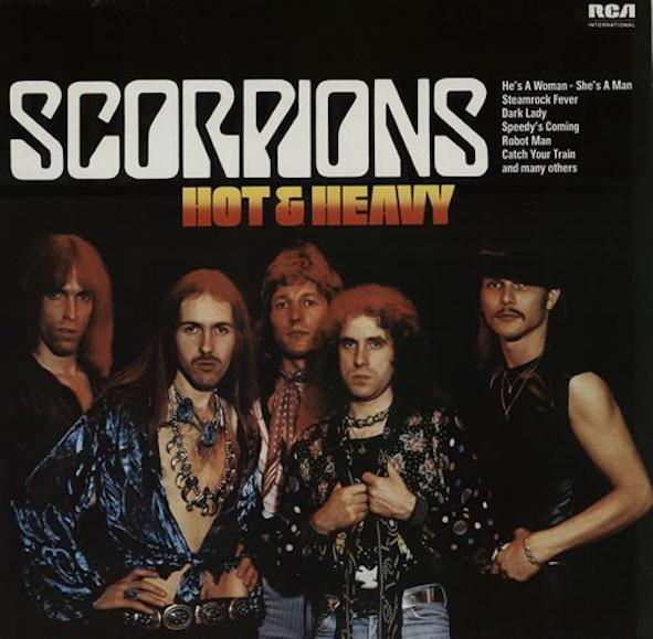 Scorpions - Hot & Heavy