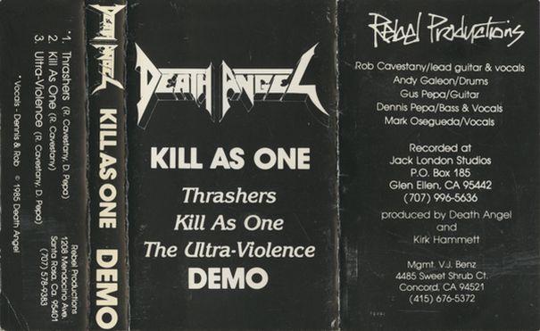 Death Angel - Kill as One
