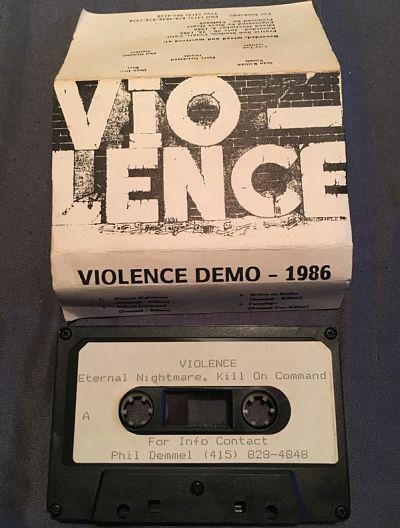 Vio-lence - Second 1986 demo