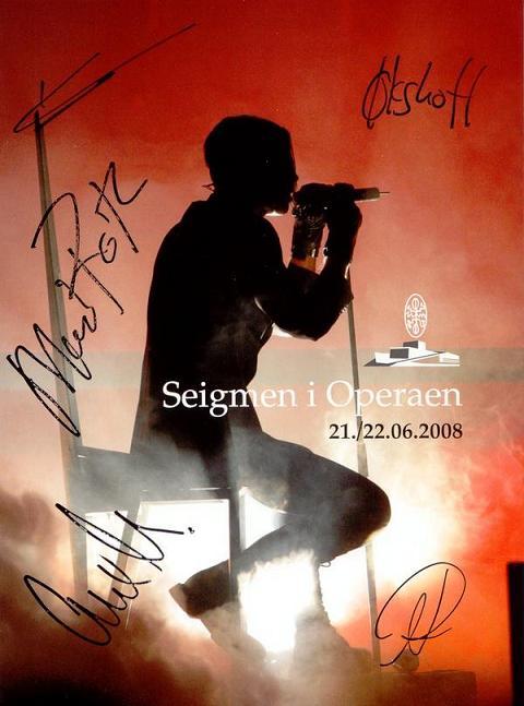 Seigmen - Seigmen i operaen - 21./22.06.2008