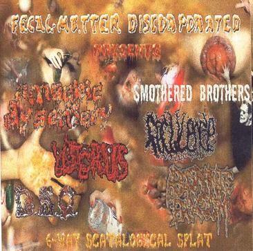 Amoebic Dysentery / Feculence / Abosranie Bogom - 6-Way Scatalogical Splat
