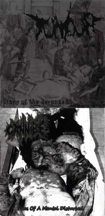 Cannibe - Diary of the Deranged / Files of a Mental Disturbed