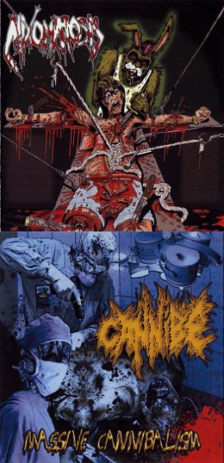 Mixomatosis / Cannibe - Untitled / Massive Cannibalism