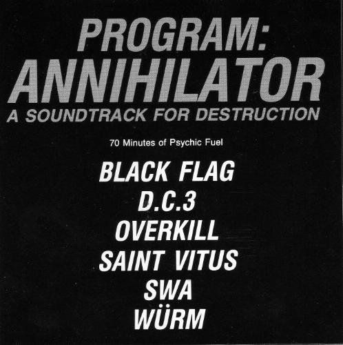 Saint Vitus - Program: Annihilator - A Soundtrack for Destruction