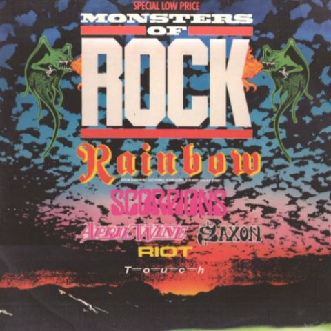 Rainbow / Saxon / Riot V / Scorpions - Monsters of Rock