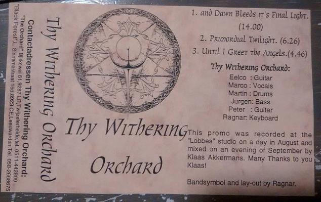 Thy Withering Orchard - Promo 1997