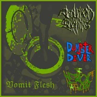 Dumpster Diver - Vomit Flesh