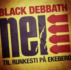 Black Debbath - Nei til runkesti på Ekeberg