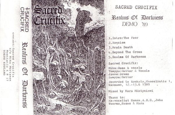 Sacred Crucifix - Realms of Darkness