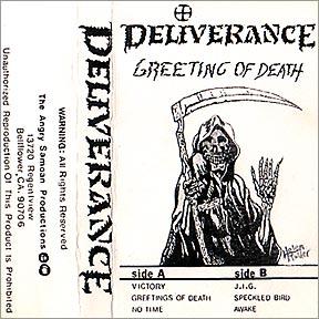 Deliverance greeting of death encyclopaedia metallum the metal deliverance greeting of death m4hsunfo