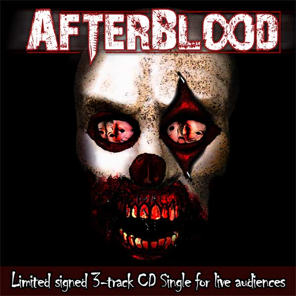 Afterblood - Limited Signed 3-track CD Single for Live Audiences