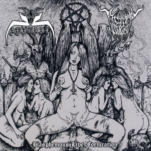 Abigail / Black Angel - Blasphemous Live Fornication