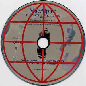 Tony MacAlpine - The World We Live In