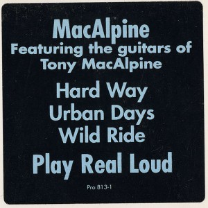 Tony MacAlpine - The Hard Way