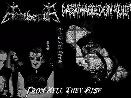 Baalberith / Darkmaggedon Kult - From Hell They Rise