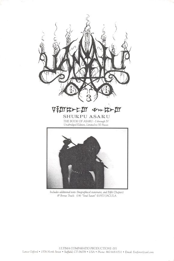 Yamatu - Shurpu Asaru