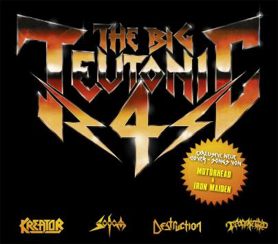 Destruction / Kreator / Sodom / Tankard - The Big Teutonic 4