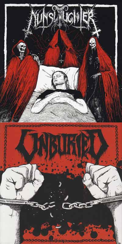 Nunslaughter / Unburied - Nunslaughter / Unburied