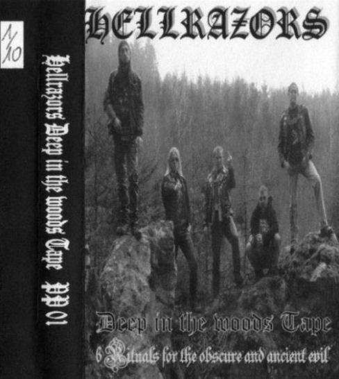 Hellrazors - Deep in the Woods Tape