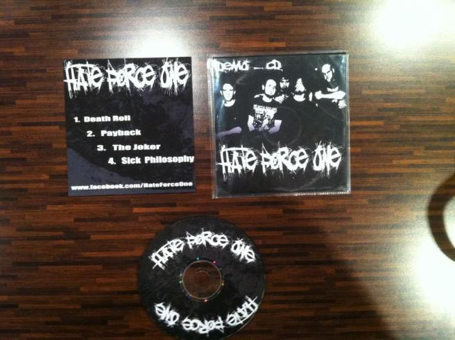 Hate Force One - Demo 2012