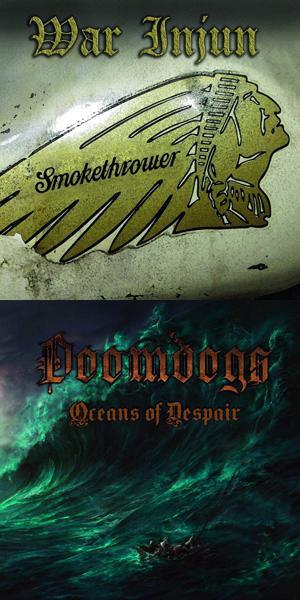 War Injun / DoomDogs - Smokethrower / Oceans of Despair