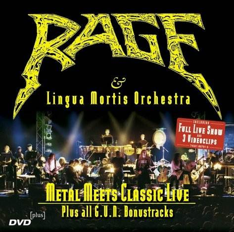 Rage - Metal Meets Classic Live Plus All G.U.N. Bonustracks