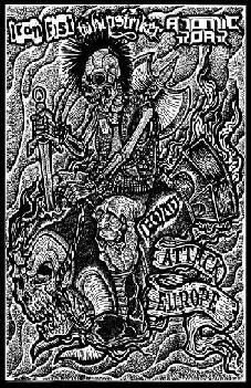 Atomic Roar / Whipstriker / Iron Fist - Metalpunk's Not Dead; Attack Europe
